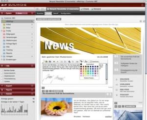 Flexible Crossmedia-Newsletter
