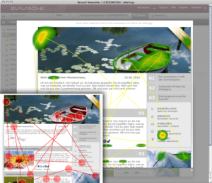 Attention analysis with eye tracking
