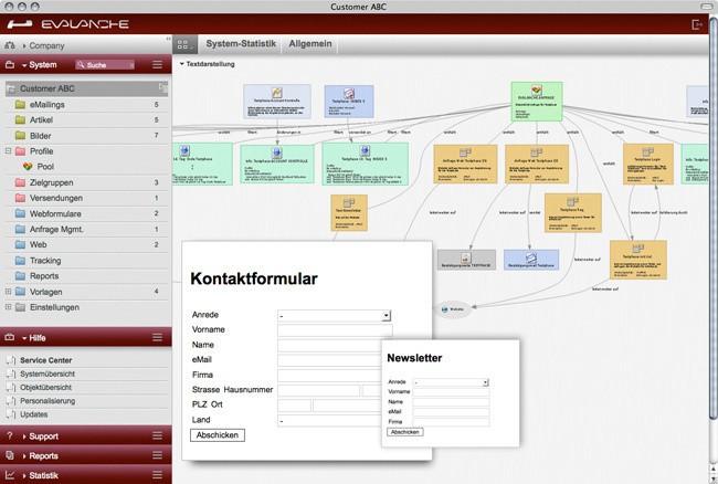 Address generation via Webform