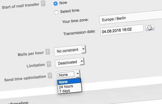 Sending Time Optimisation