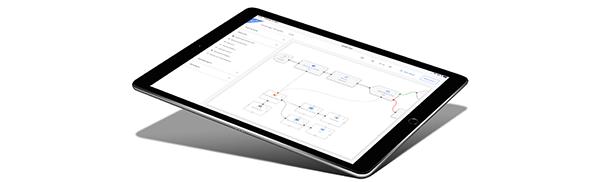 Evalanche Campaign Designer iPad