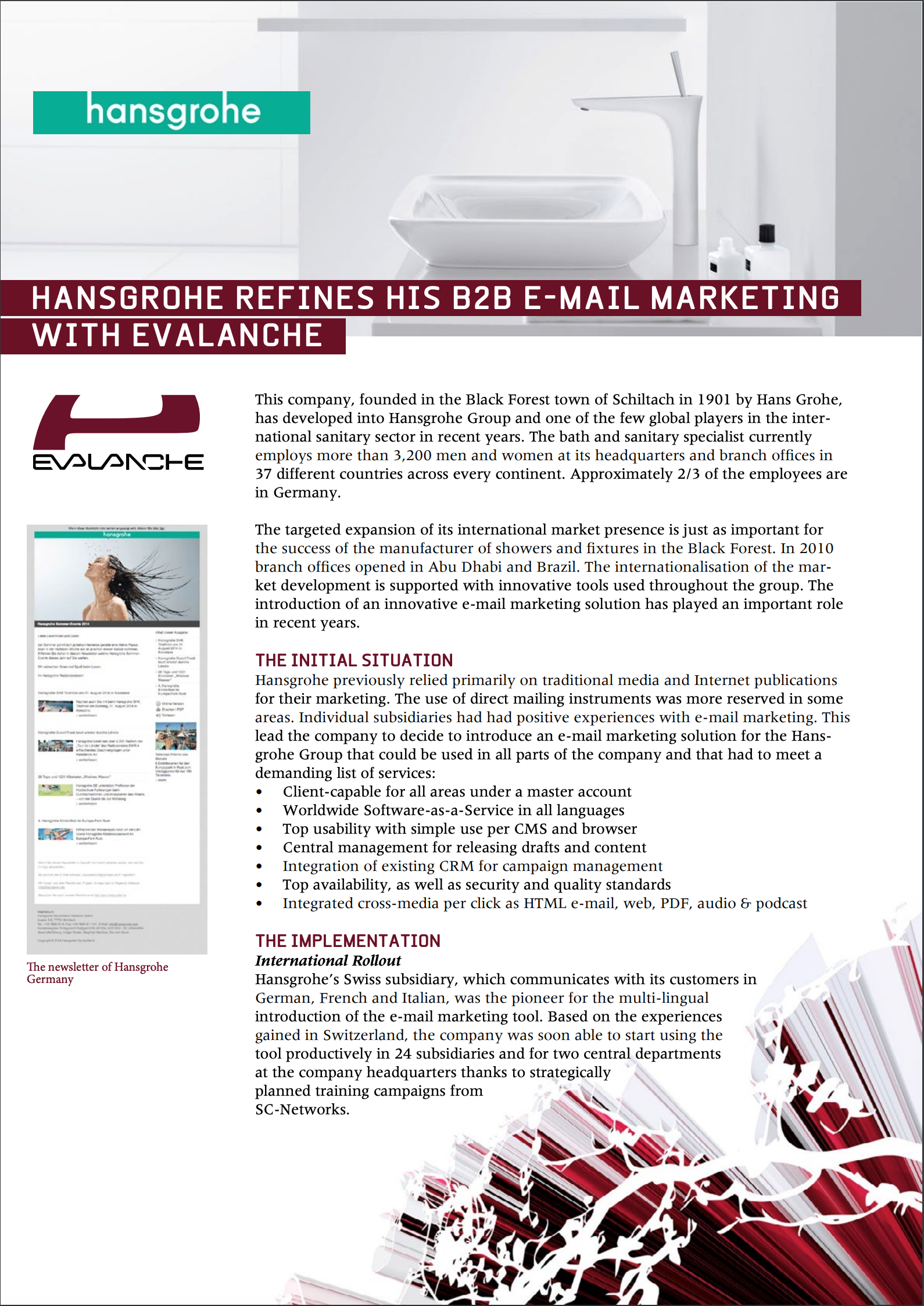 SC-Networks: Use Case hansgrohe english